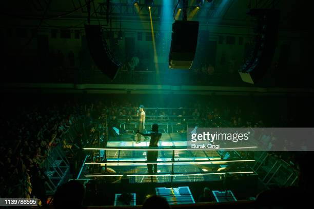 Slowthai performs onstage at York Hall on April 01, 2019 in London, England.