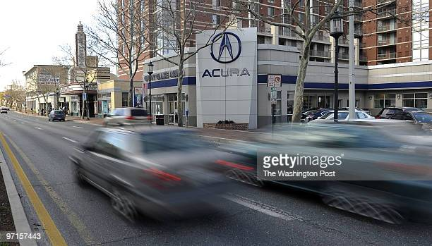FI/Acura Date Kevin Clark/The Washington Post Neg # clarkk Bethesda MD Chevy Chase Cars is now Chevy Chase Acura The Bethesda MD institution has...