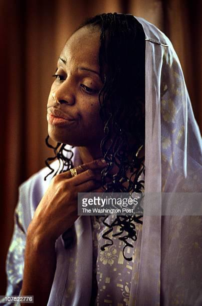 Date: 11/6/2002 Photographer: Dudley M. Brooks_TWP Neg# TK Washington, DC Portrait of Mildred Muhammad - ex-wife of sniper John Muhammad.