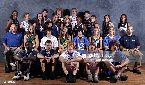 PWAllextra Date 6082006 Kevin Clark/The Washington Post Neg # 181144 Manassas VA Prince William AllExtra lacrosse team First row from left Mike...