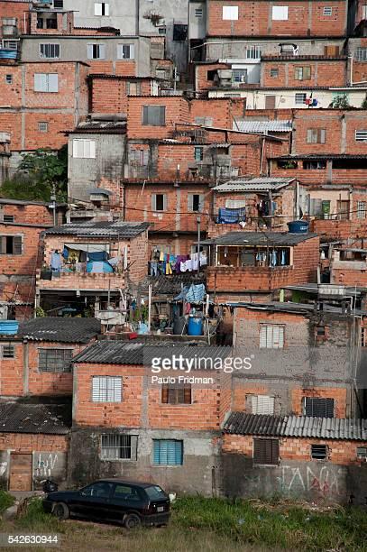 Slum in Campo Limpo a suburban area in Sao Paulo