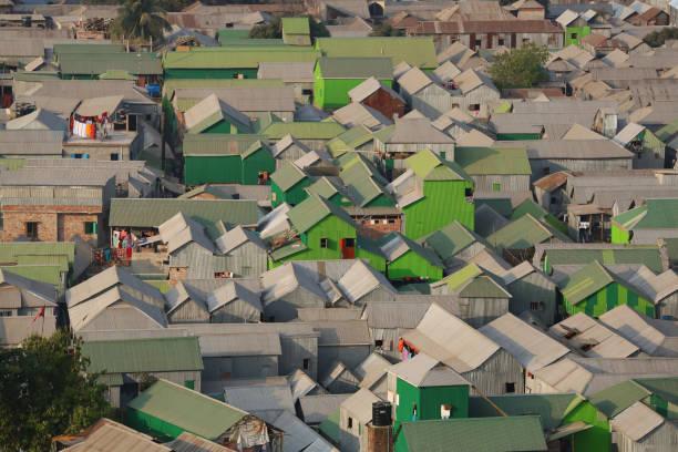 Slum in Dhaka, Bangladesh