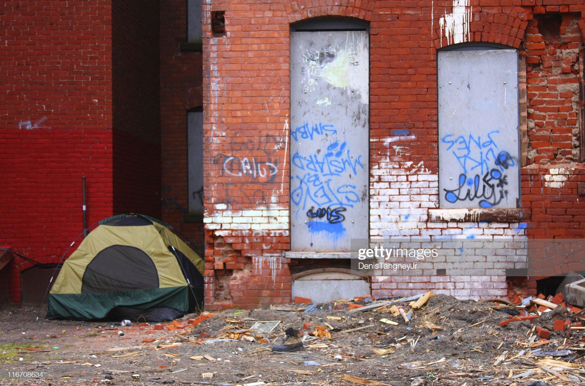 Slum : Stock Photo