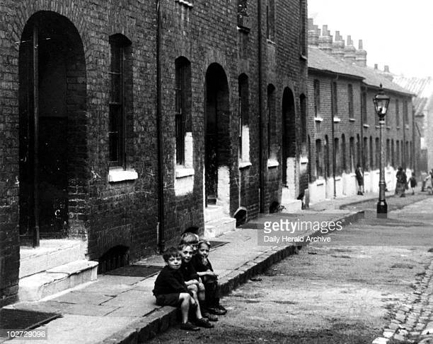 Slum property London c 1930s Slum property London c 1930s 'Coaltman Street houses in Greenwich condemned by the Greenwich Borough Council' Photograph...