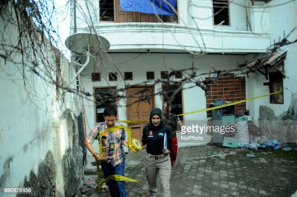 Slum shelter of human trafficking victims to the Middle East Jakarta on May 312017 Police previously succeeded in arresting the Managing Director of...