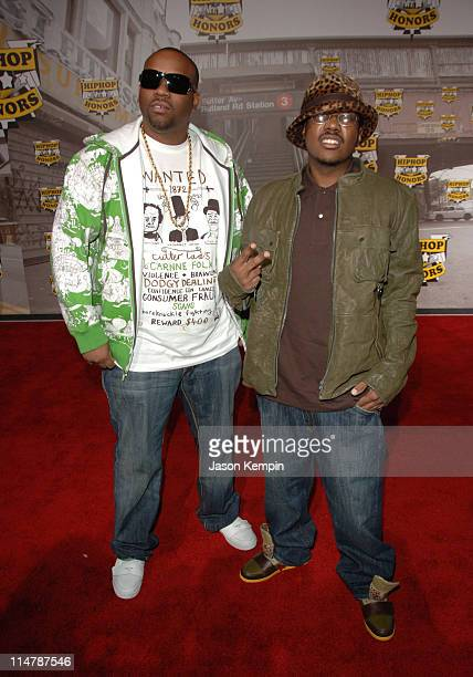 Slum Village during 2006 VH1 Hip Hop Honors Arrivals at Hammerstein Ballroom in New York City New York United States