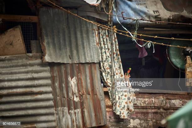 Slum window shot