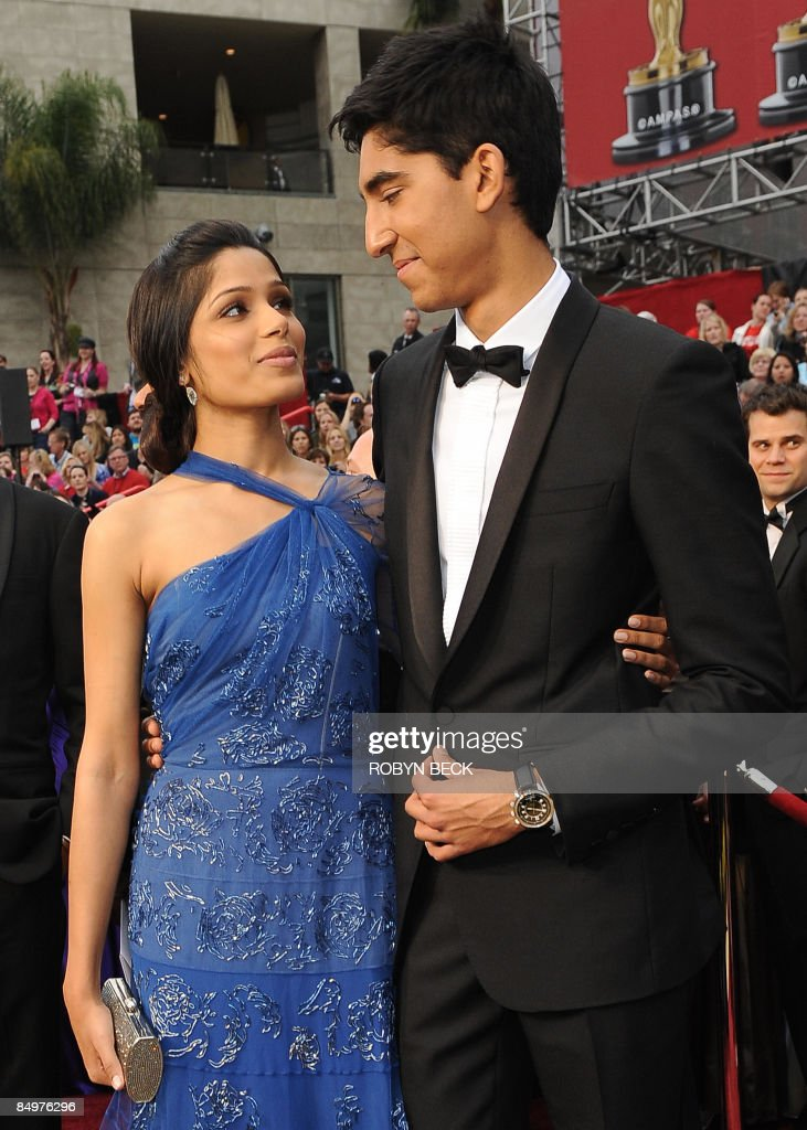 """Slumdog Millionaire"" lead actor Dev Pat : News Photo"