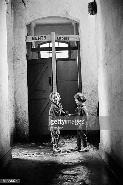 Slums Benburb street area of Dublin Republic of Ireland 11th May 1968 Dublin slums controlled by the municipal authority the Dublin Corporation which...
