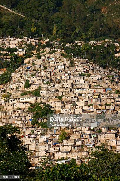 Slums in Port au Prince