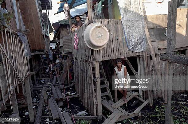 Slums Philippines Cebu CityThese Families Are Too Poor To Buy Homes Inland With Access To Clean Water They are forced to build makeshift houses along...