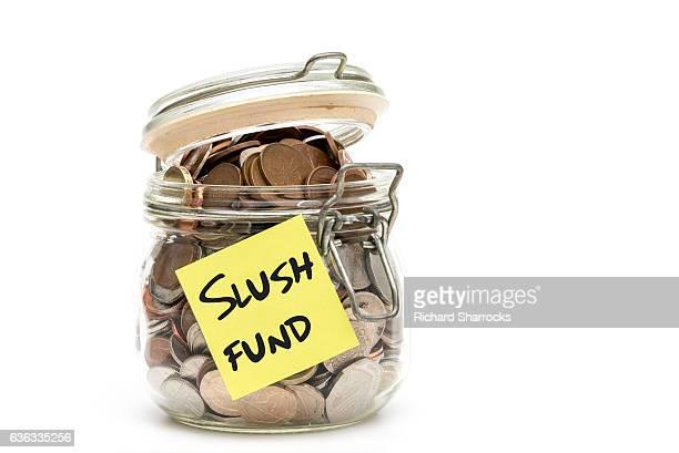 slush fund jar - モーペス ストックフォトと画像