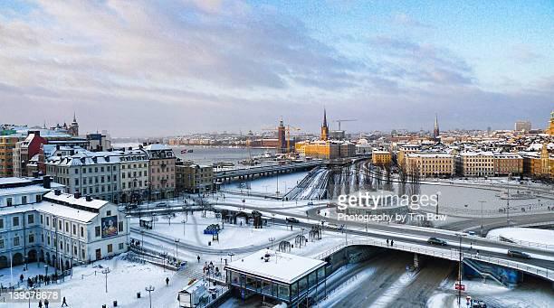 Slussen winter wonderland