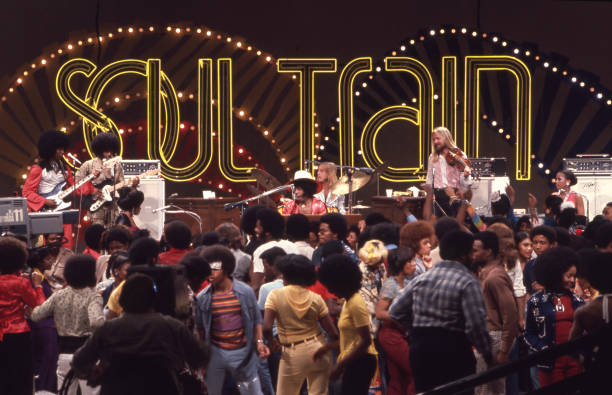 USA: 2nd October 1971 - American TV Show 'Soul Train' Premieres