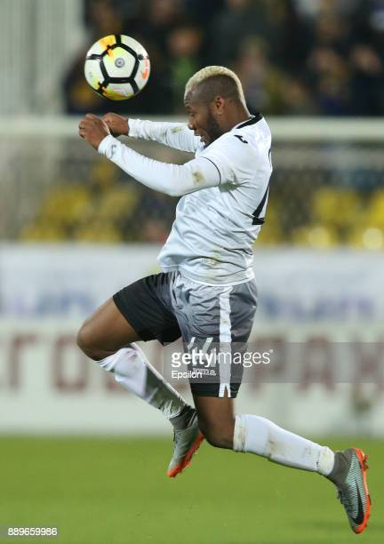 Sly of FC Ufa in action during the Russian Premier League match between FC Rostov RostovonDon v FC Ufa at Olymp 2 Stadium on December 10 2017 in...