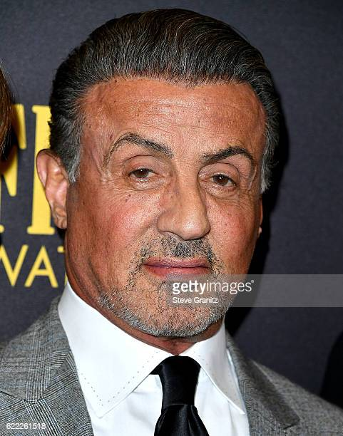 Sly Stallone arrives at the Hollywood Foreign Press Association And InStyle Celebrate The 2017 Golden Globe Award Season at Catch LA on November 10...