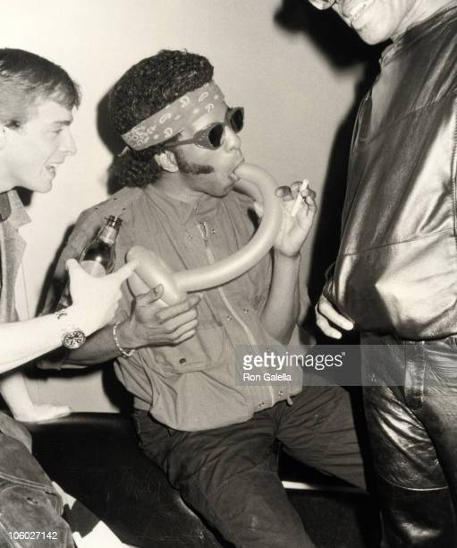 Sly Stone of Sly and the Family Stone during Party at The Red Parrot Club at The Red Parrot Club in New York City New York United States