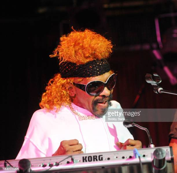 Sly Stone performs at BB King Blues Club Grill on October 5 2013 in New York City