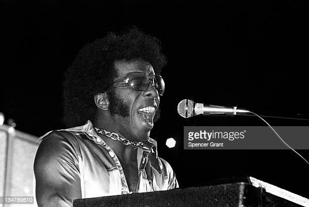 Sly Stone performs at Harvard Stadium Brighton Boston Massachusetts 1972