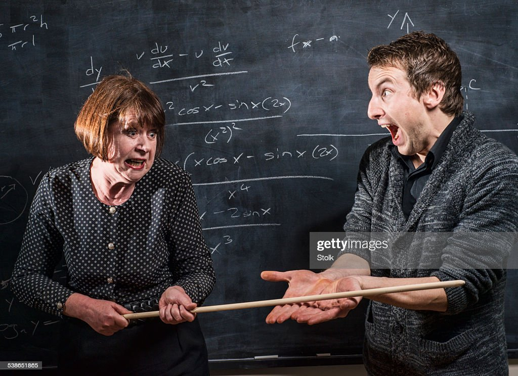Smack on the hands : Stock Photo