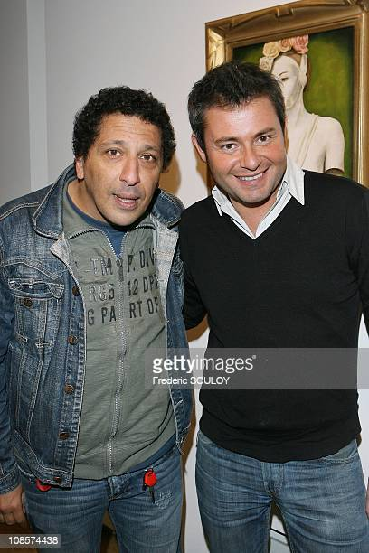 Smain and Jeome Anthony in Paris France on November 13 2008