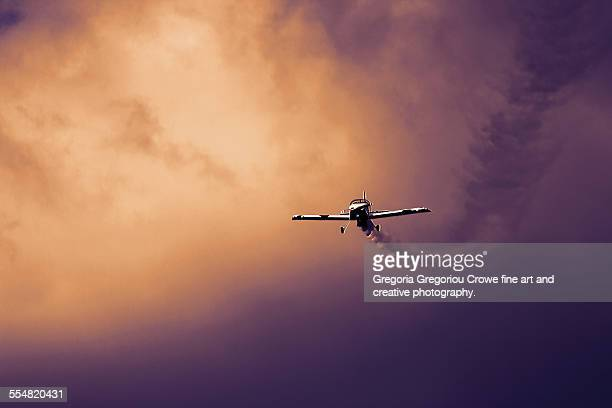 small airplane - gregoria gregoriou crowe fine art and creative photography stock photos and pictures