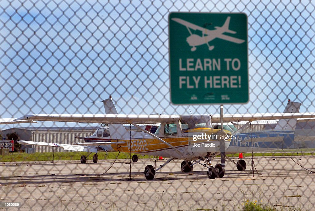 Small Airplanes Sit On The Tarmac At The Venice Municipal Airport