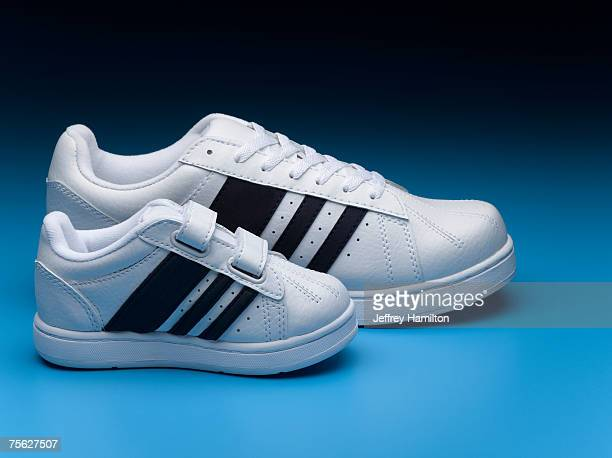 Small and big sports shoes