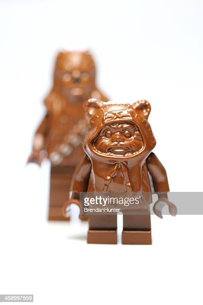 small and large - chewbacca stock pictures, royalty-free photos & images