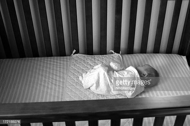 Small baby big crib