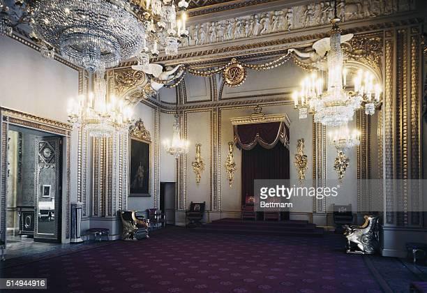 Small Ballroom or Throne Room Buckingham Palace