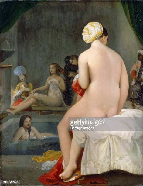 Small Bather or The Interior of the Harem 1828 Found in the Collection of Musée du Louvre Paris