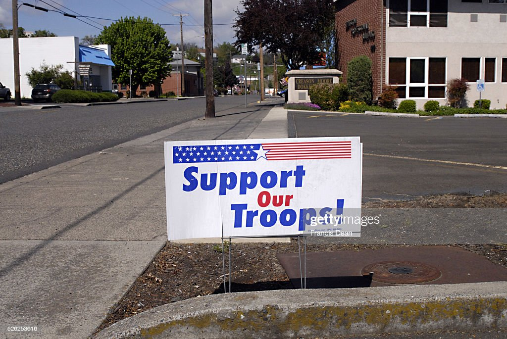 Image result for support our troops billboard