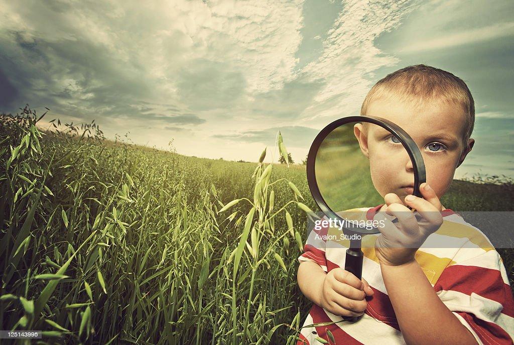 Small Biologist : Stock Photo