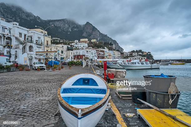 Small boats of Capri
