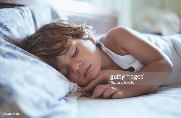 Small boy sleeping