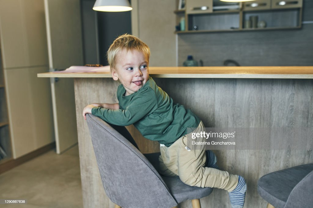 Portrait Of Two Year Old Boy High-Res Stock Photo - Getty