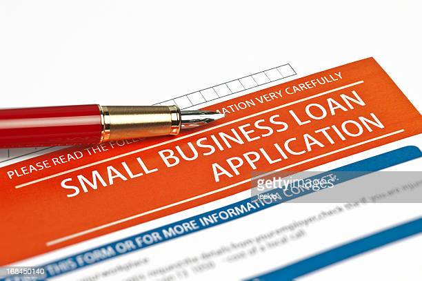 small business loan application - loan stock pictures, royalty-free photos & images