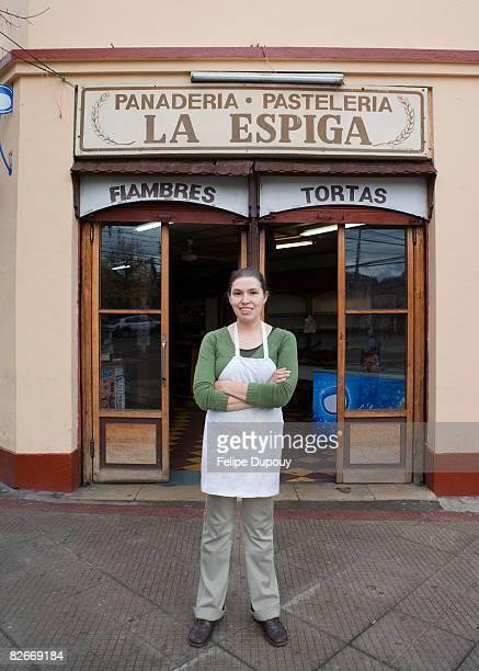 Pequeños negocios dueño en Santiago de Chile