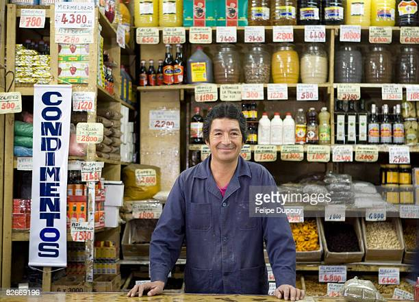 small business owner in santiago, chile - chile stock pictures, royalty-free photos & images