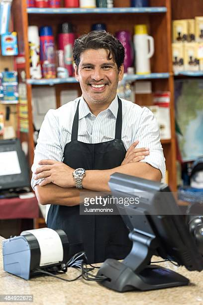 small business owner - convenience store stock photos and pictures