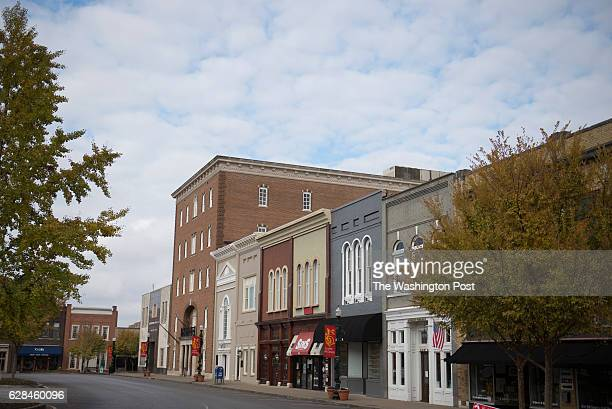 Small businesses line the streets of the Murfeesboro's downtown square on Thursday Nov 24 2016
