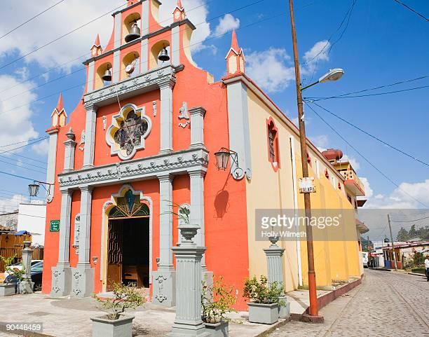 Small catholic church in Xico.