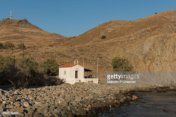 Small chapel by the sea, Eresos, Lesvos, Greece