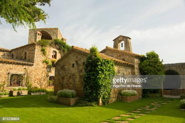 Small chapel of Pals- Bajo Ampurdán- Catalonia- Spain