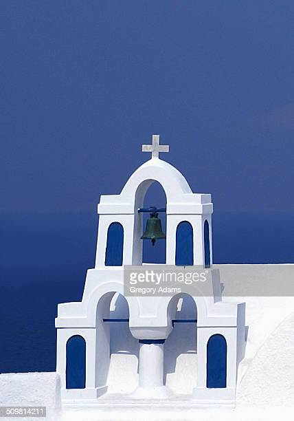 A Small Church in Oia, Greece