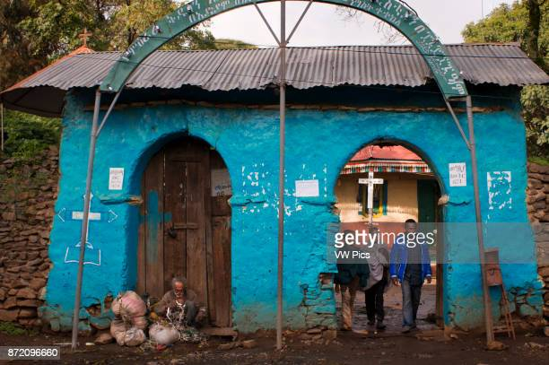 Small church on the outskirts of Gondar Ethiopia The city of Gondar was founded by the emperor Fasilidas by the year 1635 It was the Emperor...