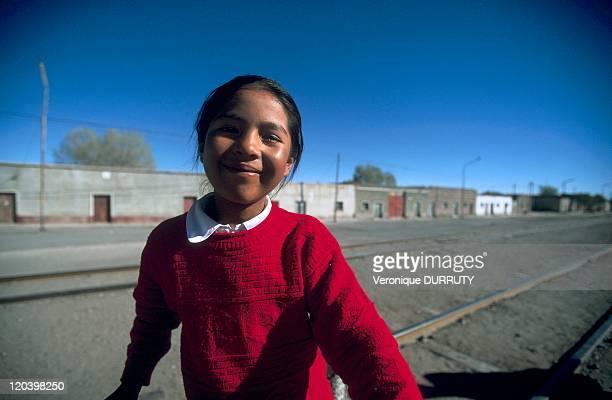 Small city of Uyuni Bolivia