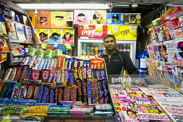 small corner store - convenience store interior stock photos and pictures