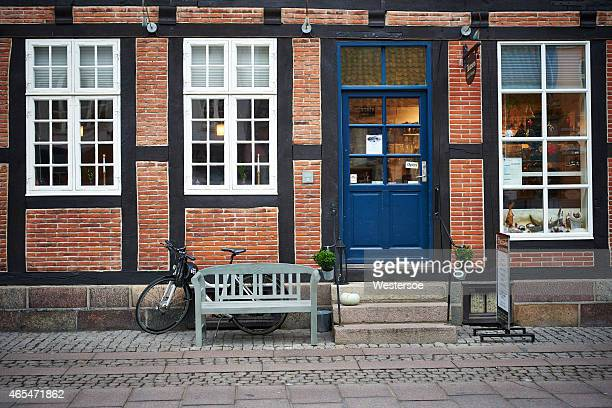 small cozy restaurant in odense - funen stock pictures, royalty-free photos & images